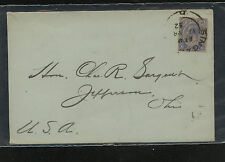 Straits  Settlements   192 on  cover  to  US  1932       KL0604