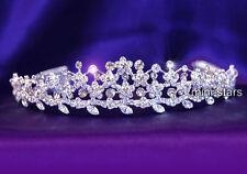 Hochzeit Diadem Benutzen Swarovski Kristall T1059
