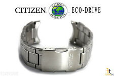 Citizen Eco-Drive Original AT8010-58E 23mm Stainless Steel Watch Band AT8020-54L