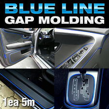 Edge Gap Blue Line Interior Point Molding Accessory Garnish 5M for AUDI A6