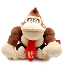 "Super Mario Bros DONKEY KONG 9"" Plush Toy - Little Buddy - New with Tags"