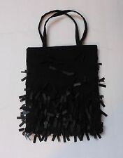 SUE WONG Nocturne Black Silk Evening Purse/Bag Style 231
