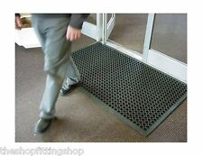 NONE SLIP Entrance Door Mat 1500mm x 900mm Anti Fatigue Rubber Safety Shop Home