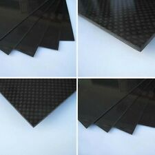 200×300×1.5mm With 100% Real Carbon Fiber plate panel sheet 3K plain weave WP