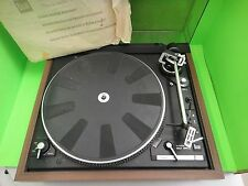 Vintage Turntable DUAL CS 521 Belt Drive Automatic Single-Play & Owners Manual