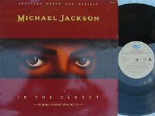 Michael Jackson ORIG DUT PS 12 In the closet NM '91 R&B dance Pop Epic 6580186