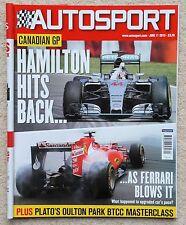 Autosport magazine 11th June 2015