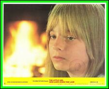 """JODIE FOSTER in """"The Little Girl Who Lives Down the Lane"""" Orig. COLOR L/C 1977"""