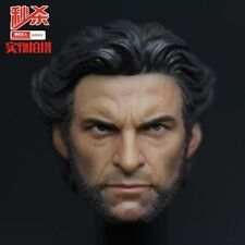 1/6 Custom made scale Head Sculpt Wolverine Hugh Jackman X-Men 1.0 in stock