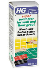 Super protector pour wall & floor grout protège tuiles 250ml hg hagesan
