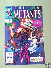 THE NEW MUTANTS- MARVEL COMIC - VOL 1  #74 - APRIL 1989