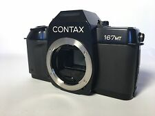 NEW in Box Contax 167 MT 35mm SLR Film Camera Body Only SN034723