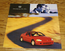 Original 1996 Honda Civic del Sol Deluxe Sales Brochure 96