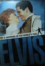 ELVIS Presley It HAPPENED at the WORLD's FAIR (1963) 5 Collectible Cards SEALED