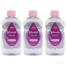 Johnson's Baby Oil 300ml 3 Pack
