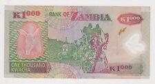 (WN-16) 2003 Zambia 1000 Kwacha bank note UNC (E)