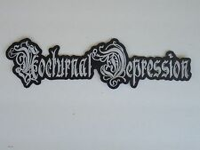 NOCTURNAL DEPRESSION EMBROIDERED BACK PATCH