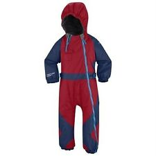 Nwt Boy 6M Columbia Snow Zip Suit Winter Coat 1 Piece Bib Omni- Sheild Blue Red