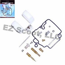 CARBURETOR REPAIR KIT GY6 50cc 139 QMB/A 4 STROKE ENGINES CHINESE SCOOTER MOPED