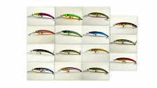 "Akuna Pack of 15 Hypnotizer 5.9"" Deep Diving Pike Bass Walleye Fishing Lure"