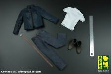 AFS A002 Captain America Jacket Jeans Set Fit for HT Body 1/6 Scale