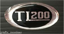 Scomadi Horncast Badge TL200 in High Gloss Chrome and Black