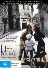 Life is Beautiful (La Vita e Bella) - Nicoletta Braschi DVD R4 NEW