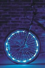 "Wheel Brightz 1 Blue Light LED Bike Bicycle Safety Scooter Tube Waterproof 20""+"