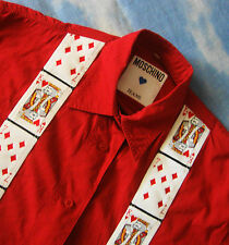 SHIRT woman vintage 80's woman MOSCHINO JEANS  made in Italy TG.M Rare