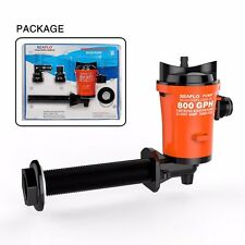 SEAFLO 90 Degree 800GPH 12V 4.0A Livewell Baitwell Submersible Pumps Bait Tanks