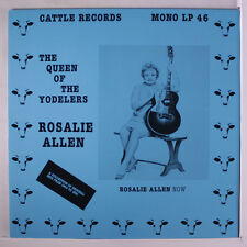 ROSALIE ALLEN: The Queen Of The Yodelers LP (Germany) Country