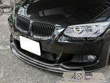 AK Look Carbon Fiber Add-On Front Bumper M-Package Lip for BMW 2011+ E92 E93 LCI
