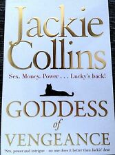 GODDESS of  VENGEANCE by  JACKIE COLLINS  a paperback novel