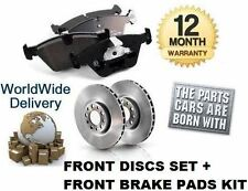 FOR CITROEN C5 2.2 DIESEL HDi 2001-2008 FRONT  Brake Discs + Disc Pads Set