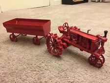 Farmall Miniature 1:16th McCormick Deering F-20 Tractor With Trailer