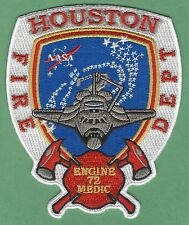 HOUSTON TEXAS ENGINE & MEDIC COMPANY 72 FIRE PATCH JOHNSON SPACE CENTER
