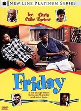 Friday  DVD (1999) Widescreen Ice Cube Chris Tucker