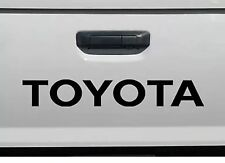 "TOYOTA BLACK TAILGATE SPORT Decals Vinyl Stickers 1 truck bed, 24"" FREE SHIPPING"