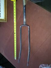 Columbia bicycle chrome fork front end 1937-1970  bike fork