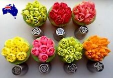 7 pcs Russian Piping Tips - Buttercream Piping Tips Nozzles Cake Decorating
