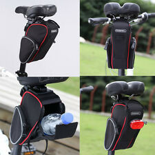 ROSWHEEL Waterproof Bike Cycling Saddle Bag Seat Pouch Bicycle Tail Rear Storage