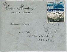 COLONIE ITALIANE - ERITREA: BUSTA POSTA AEREA 1938 #3