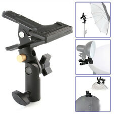 Swivel Tripod Light Stand & Reflector Background Clip Clamp Hintergrund Klemme