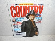 Country Weekly Magazine September 14 2004  Johnny Cash  Tim McGraw