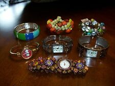 Watches & Bracelets Grab Bag Get all (7) Vintage Bracelet, Geneva Watches, etc