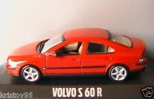 VOLVO S60 R AWD 2003 PASSION RED MINICHAMPS 1/43 SEDAN ROT ROSSO ROUGE