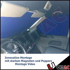 INNEN GARDINE SONNENSCHUTZ CAMPING VORHANG Blau für VW T5 2003-2015  VAN