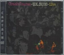 U.K. SUBS - CRASH COURSE - LIVE - (still sealed cd) - AHOY CD 140