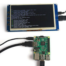 "7"" Capacitive Touch Screen Display LCD 800x480 HDMI for Raspberry Pi 2 Powerful"