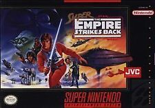 SUPER EMPIRE STRIKES BACK SNES SUPER NINTENDO GAME ONLY NES HQ